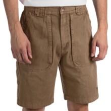 White Sierra Chugger Shorts (For Men) in Bark - Closeouts