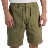 White Sierra Chugger Shorts (For Men)