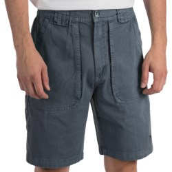 White Sierra Chugger Shorts (For Men) in Stone
