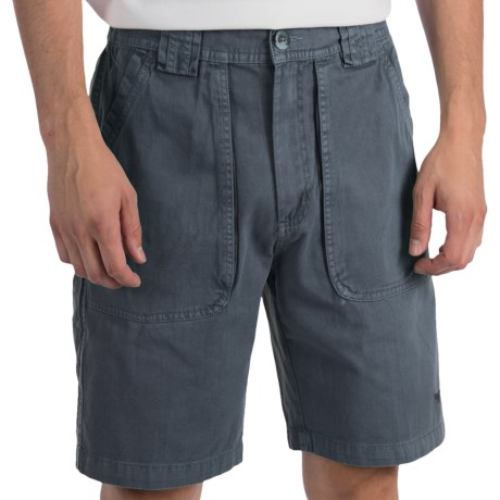 White Sierra Chugger Shorts (For Men) in Sage