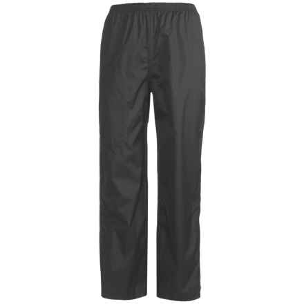 White Sierra Cloudburst Rain Pants - Waterproof (For Youth) in Black - Closeouts