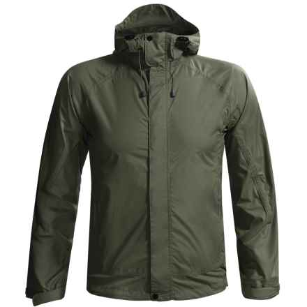 White Sierra Cloudburst Trabagon Rain Jacket - Waterproof  (For Men) in Dark Sage - Closeouts