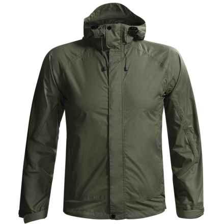 White Sierra Cloudburst Trabagon Rain Jacket - Waterproof  (For Men) in Dark Sage - Closeouts