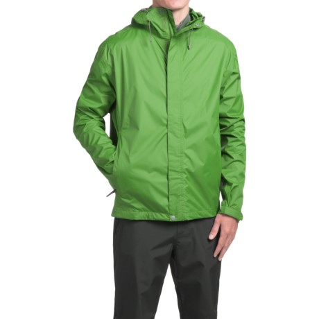 White Sierra Cloudburst Trabagon Rain Jacket - Waterproof  (For Men) in Fluorite Green