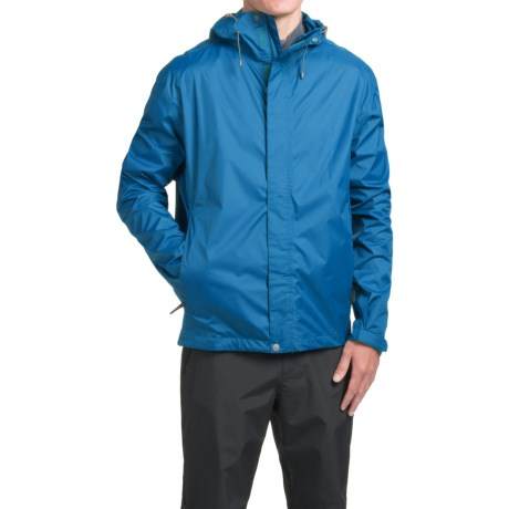 White Sierra Cloudburst Trabagon Rain Jacket - Waterproof  (For Men) in Imperial Blue