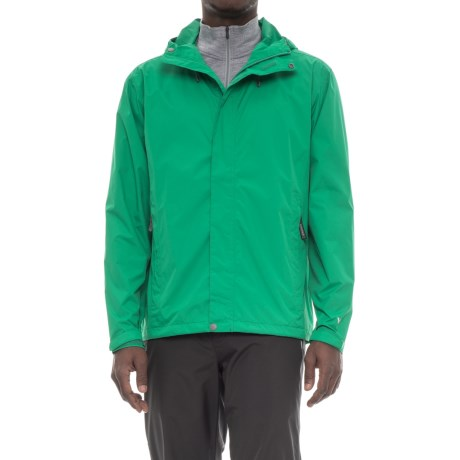 White Sierra Cloudburst Trabagon Rain Jacket - Waterproof  (For Men) in Pepper Green