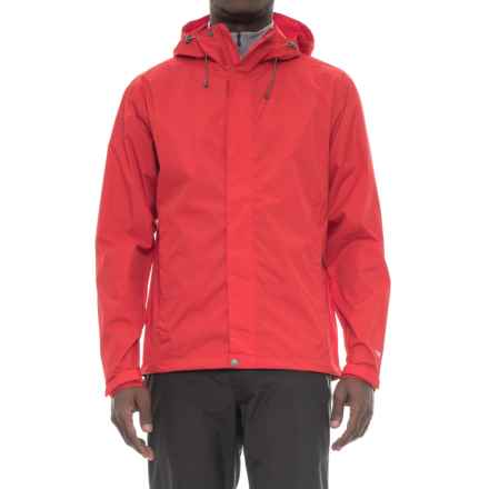 White Sierra Cloudburst Trabagon Rain Jacket - Waterproof  (For Men) in Racing Red - Closeouts