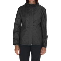 White Sierra Cloudburst Trabagon Rain Jacket - Waterproof (For Women) in Dark Purple