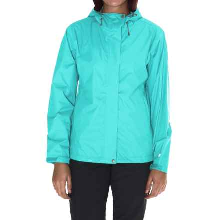 White Sierra Cloudburst Trabagon Rain Jacket - Waterproof (For Women) in Blue Radiance - Closeouts
