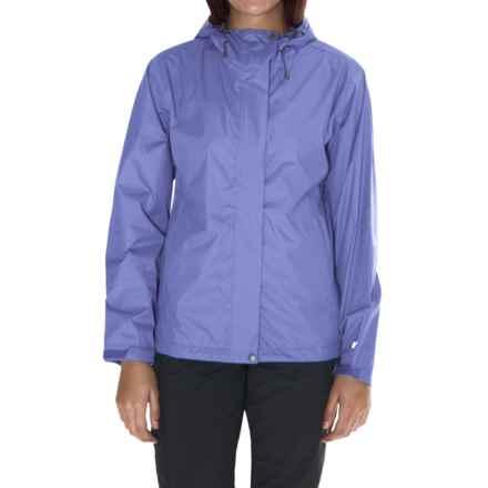 White Sierra Cloudburst Trabagon Rain Jacket - Waterproof (For Women) in Purple Rain - Closeouts