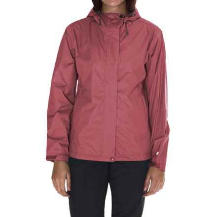White Sierra Cloudburst Trabagon Rain Jacket - Waterproof (For Women) in Watermellon - Closeouts