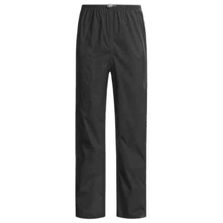 White Sierra Cloudburst Trabagon Rain Pants - Waterproof (For Men) in Black - Closeouts