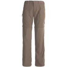 White Sierra Convertible Sierra Point Pants - UPF 30 (For Women) in Bark - Closeouts