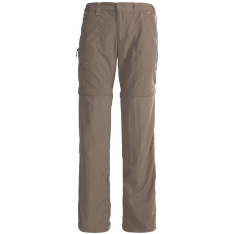 White Sierra Convertible Sierra Point Pants - UPF 30 (For Women) in Caviar