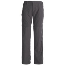 White Sierra Convertible Sierra Point Pants - UPF 30 (For Women) in Caviar - Closeouts