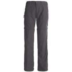 White Sierra Convertible Sierra Point Pants - UPF 30 (For Women) in Caviar