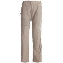 White Sierra Convertible Sierra Point Pants - UPF 30 (For Women) in Stone - Closeouts