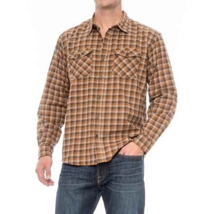 White Sierra Coyote Creek II Plaid Shirt - Cotton Blend, Long Sleeve (For Men) in Wren - Closeouts