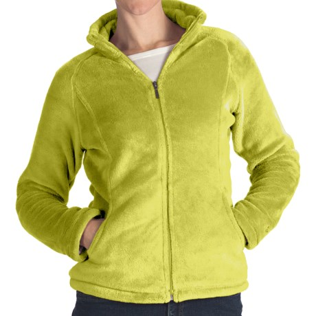 White Sierra Cozy Fleece Jacket - 200 wt. (For Women) in Lizzard