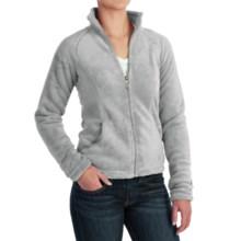 White Sierra Cozy Fleece Jacket - 200 wt. (For Women) in Quarry - Closeouts