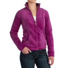 White Sierra Cozy Fleece Jacket - 200 wt. (For Women) in Sugar Plum - Closeouts