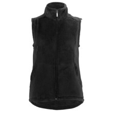 White Sierra Cozy Fleece Vest (For Women) in Black - Closeouts
