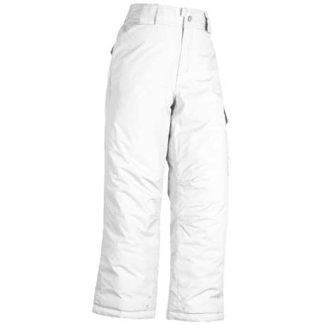 White Sierra Cruiser Snow Pants - Insulated (For Girls)
