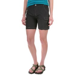 White Sierra Crystal Cove II Shorts - UPF 30 (For Women) in Black