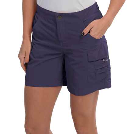 White Sierra Crystal Cove II Shorts - UPF 30 (For Women) in Evening Blue - Closeouts