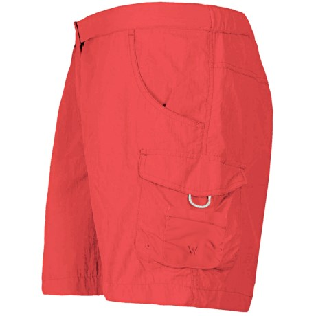 White Sierra Crystal Cove II Shorts - UPF 30 (For Women) in Hibiscus