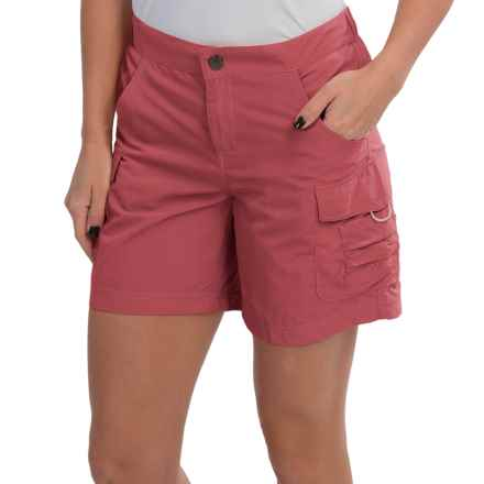 White Sierra Crystal Cove II Shorts - UPF 30 (For Women) in Watermelon - Closeouts