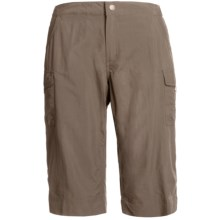 White Sierra Crystal Cove II Skimmer Shorts - UPF 30 (For Women) in Bark - Closeouts
