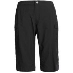 White Sierra Crystal Cove II Skimmer Shorts - UPF 30 (For Women) in Black