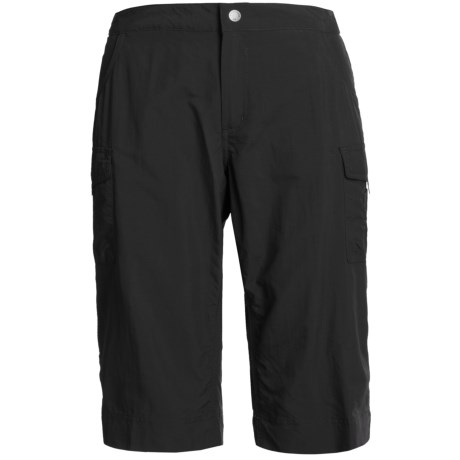 White Sierra Crystal Cove II Skimmer Shorts - UPF 30 (For Women) in Black