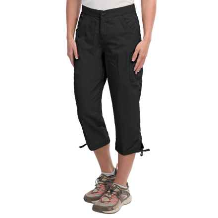 White Sierra Crystal Cove River Capris - UPF 30 (For Women) in Black - Closeouts