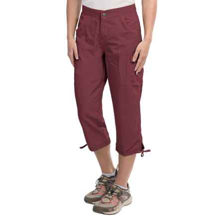White Sierra Crystal Cove River Capris - UPF 30 (For Women) in Dark Grape - Closeouts