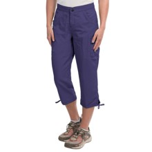 White Sierra Crystal Cove River Capris - UPF 30 (For Women) in Evening Blue - Closeouts