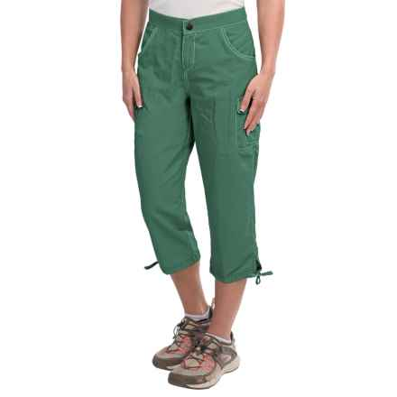White Sierra Crystal Cove River Capris - UPF 30 (For Women) in Fir - Closeouts