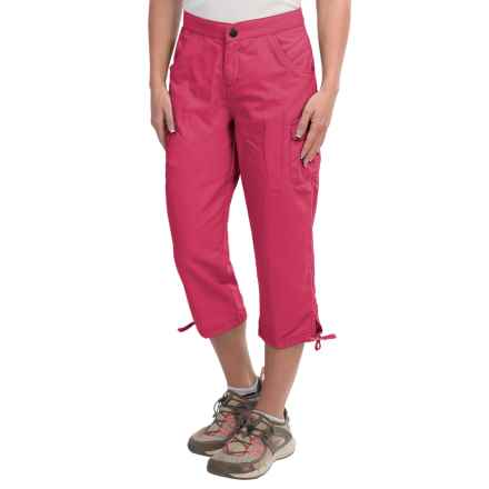 White Sierra Crystal Cove River Capris - UPF 30 (For Women) in Raspberry - Closeouts