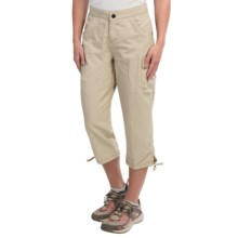 White Sierra Crystal Cove River Capris - UPF 30 (For Women) in Stone - Closeouts
