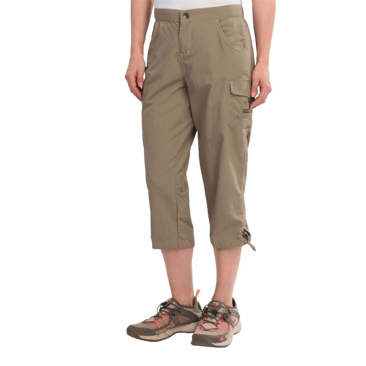White Sierra Crystal Cove River Capris (For Women) - Save 62%