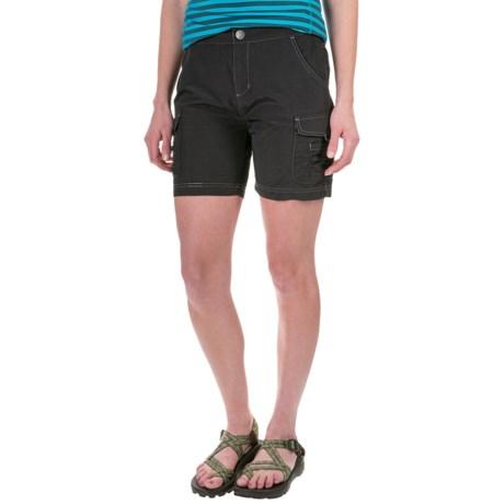 White Sierra Crystal Cove Shorts - UPF 30 (For Women) in Black