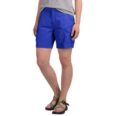 White Sierra Crystal Cove Shorts - UPF 30 (For Women) in True Blue - Closeouts