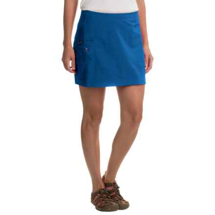 White Sierra Crystal Cove Wrap Skirt - UPF 30 (For Women) in True Blue - Closeouts