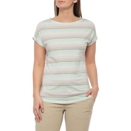 c104bf4a White Sierra Day Tour Striped T-Shirt - Short Sleeve (For Women) in