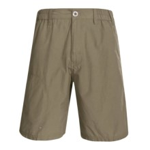 White Sierra Devils Rest Trail Shorts (For Men) in Bark - Closeouts