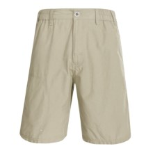 White Sierra Devils Rest Trail Shorts (For Men) in Stone - Closeouts