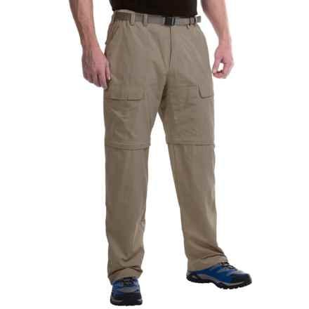 White Sierra El Dorado Convertible Pants (For Men) in Bark - Closeouts