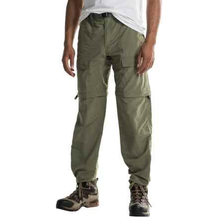 WHITE SIERRA EL DORADO CONVERTIBLE PANTS (For Men) in Deep Lichen Green - Closeouts