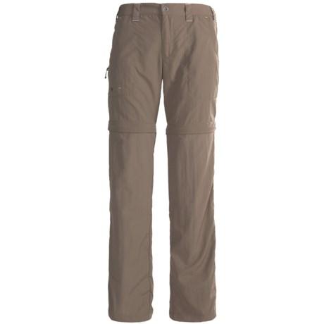 White Sierra El Dorado Convertible Pants - UPF 30 (For Women) in Khaki